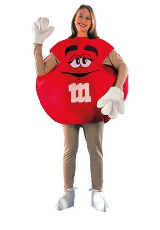 Bekende Figuren-M&M-Rood