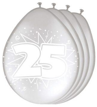 ballonnen-25-zilver