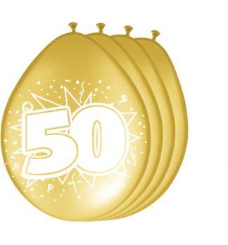 ballonnen-50-goud