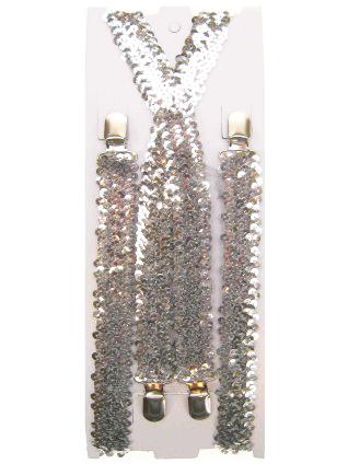 bretels zilver