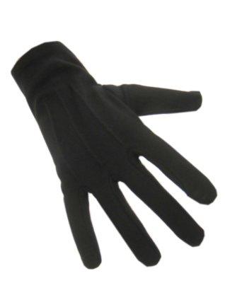 handschoen katoen zwart