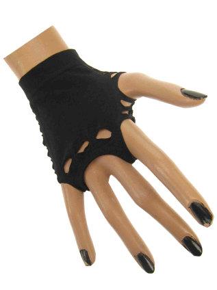 handschoenen opengewerkt