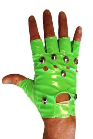 handschoenen punk groen