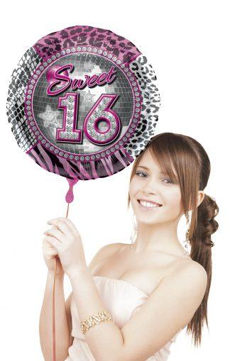 folieballon-sweet 16