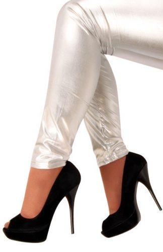 legging-metallic-zilver