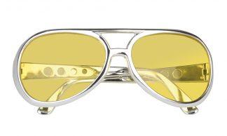 bril rock 'n roll geel