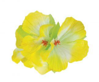 haarclip bloem geel