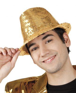 tribly hoed pailletten goud