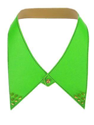 kraag-neon-groen