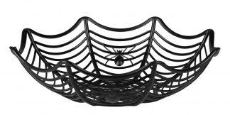 Halloweenmandje Spinnenweb