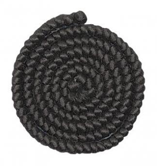 Wolcrêpe Zwart