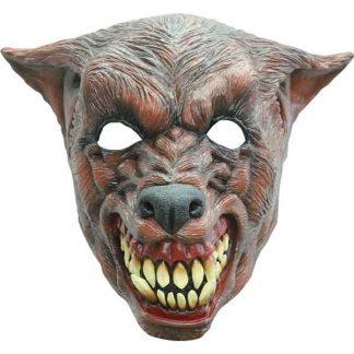 TW Latex hoofdbedekkendMasker Wolf