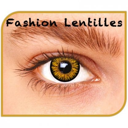 Lentilles Maandlenzen London Brown