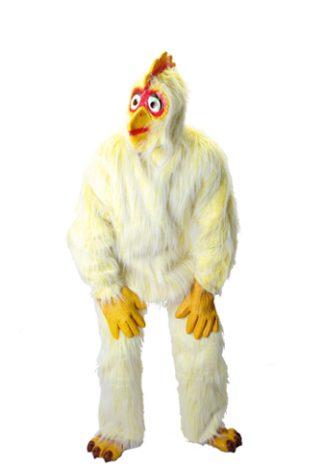 Kip: Kostuum, kop, handen en voeten €35,-