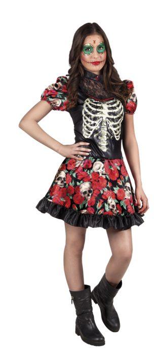 Skeletten Jurkje Meisje