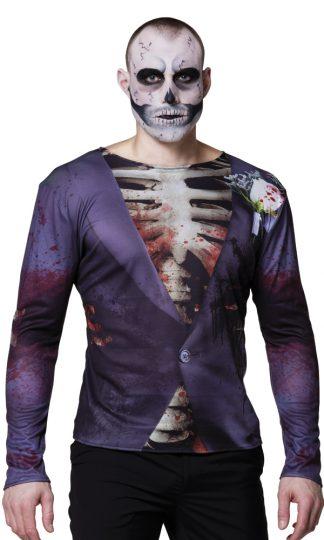 Skelet Bruidegom Shirt