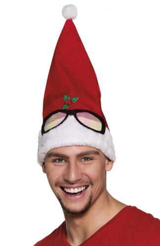kerstmuts-bril