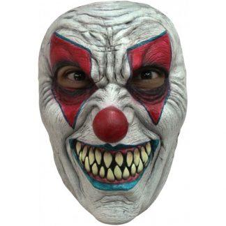 TW Latex gezichtsmasker duivelse clown-evil