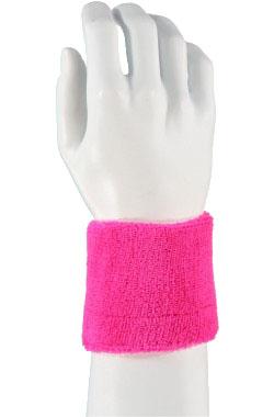 Polsbandje neon roze