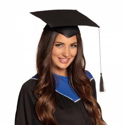 afstudeer graduate geslaagd hoedje