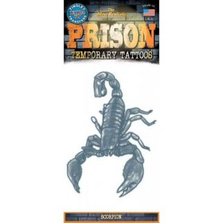 tattoo prison scorpion