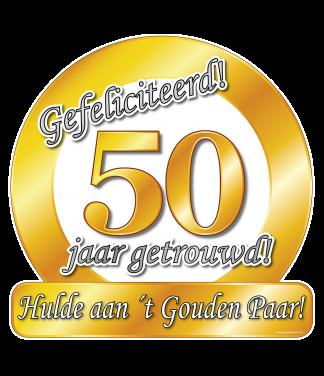 gouden 50 jarig huwelijk