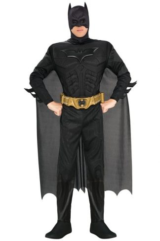 Batman muscle chest onesie
