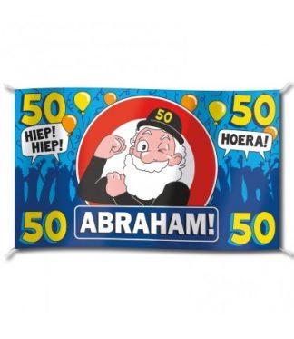 XXL Gevelvlag abraham 50