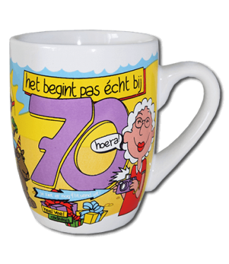 cartoon mok 70 jaar