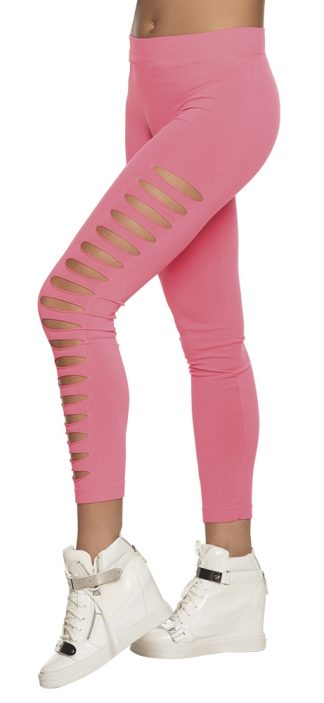 legging neon roze