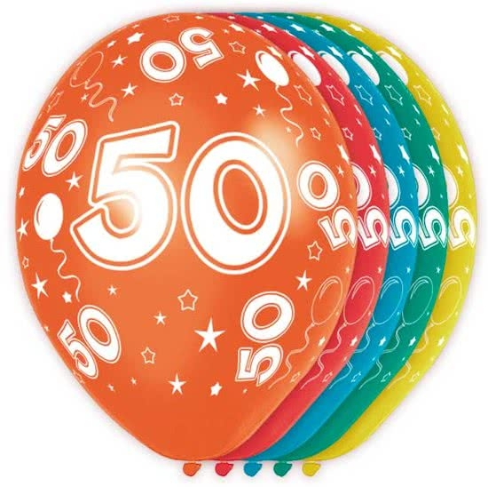 (Helium)Ballonnen 50