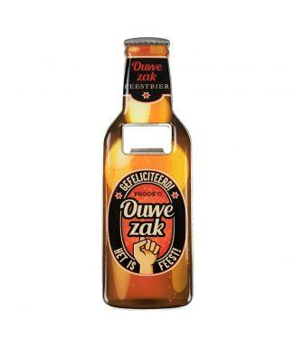 Bieropener Ouwe zak