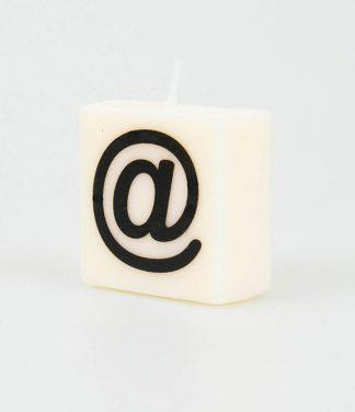 Letter kaarsje