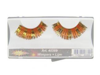 Wimpers Oranje/ Goud