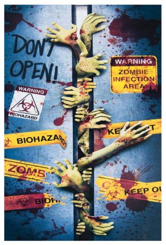 Deurbekleding Zombies