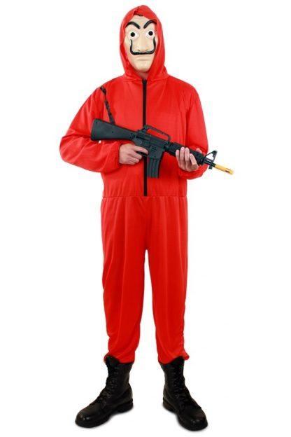 Bank overall rood