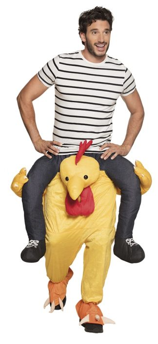 Carry me funny chicken