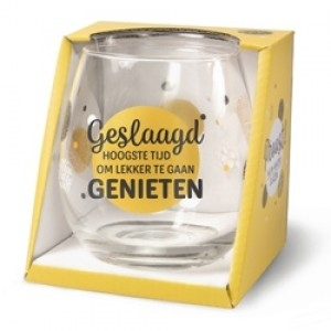 Water- wijnglas Geslaagd