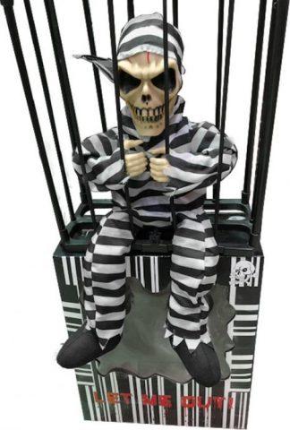 TW Prisoner gevangene in cage kooi