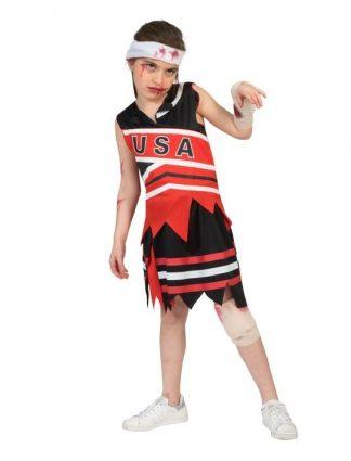 Zombie cheerleader meisje