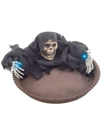 Snoepkom skelet met licht