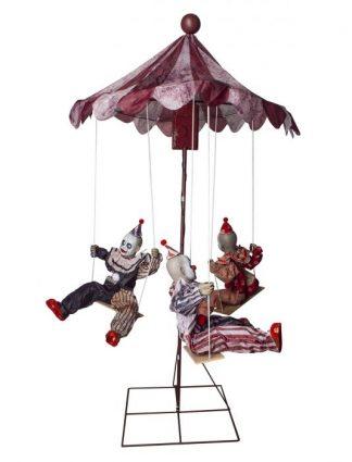 Draaimolen Halloween Clowns