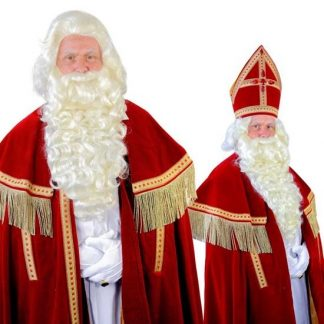 Baardstel TV-Sinterklaas kanakalon