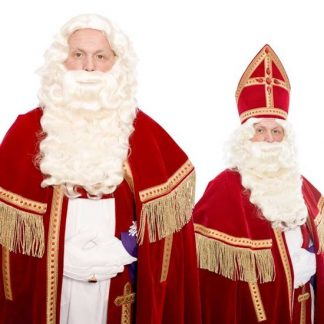 Baardstel Sinterklaas P Kanakalon