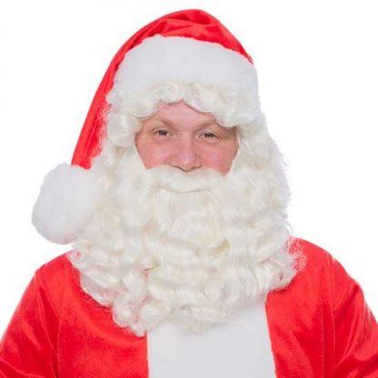 Baardstel Kerstman kanakalon