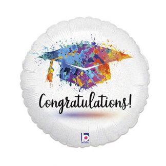 Folieballon Geslaagd Congratulations