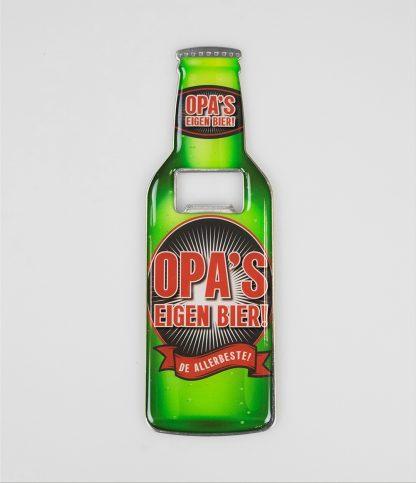 Bieropener Opa's eigen bier