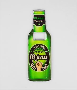 Bieropener 18 jaar
