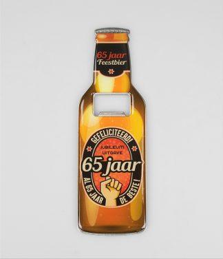 Bieropener 65 jaar