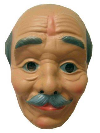 Masker Abraham randje haar